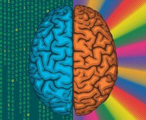Фото Как наладить связь между правым и левым полушарием?