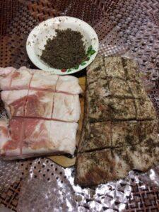 Фото Новые рецепты приготовления соленого сала