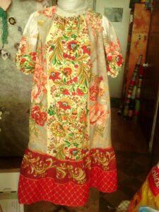 Фото Ночная сорочка-домашнее платье