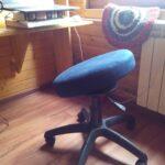 Компьютерный стул-тренажер для позвоночника