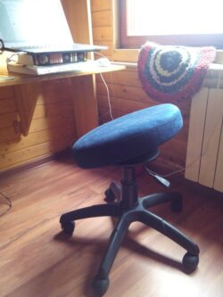 Фото Компьютерный стул-тренажер для позвоночника