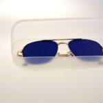 Перфорационные очки-тренажеры Comfort-fs  Синие