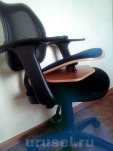 Фото Ортопедическое сиденье-тренажёр для позвоночника
