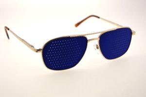Фото Синие очки тренажеры.