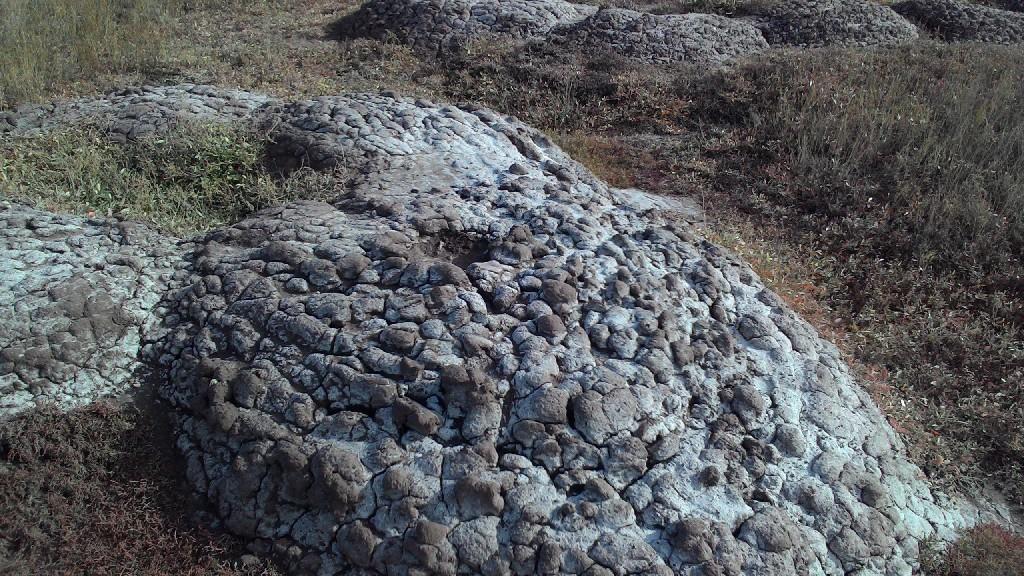 Фото красная вулканическая глина