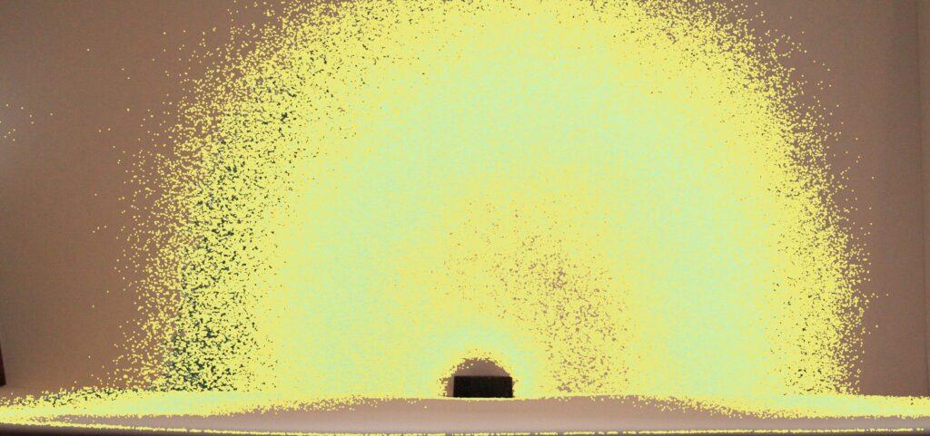 Фото Микролептонное поле Оргонного гармонизатора , фото по методу Охатрина, выполнено Савельевым